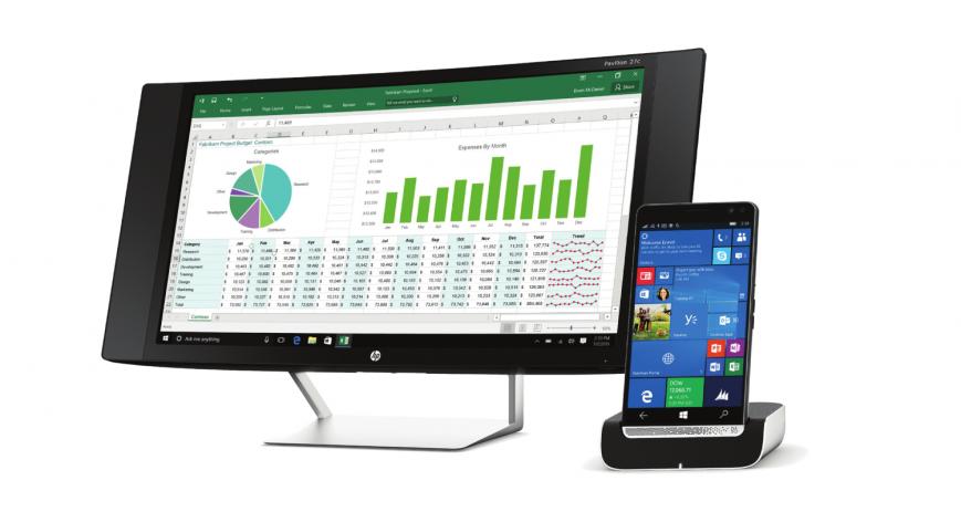 Мощный смартфон HP Elite X3 на Windows 10 Mobile выйдет в июне