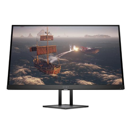 Игровой монитор OMEN 27i обеспечивает четкую частоту обновления 165 Гц и время отклика 1 мс 1 на панели Nano IPS, совместимой с NVIDIA® G-SYNC® 2 и работающей с потрясающим разрешением 2K.