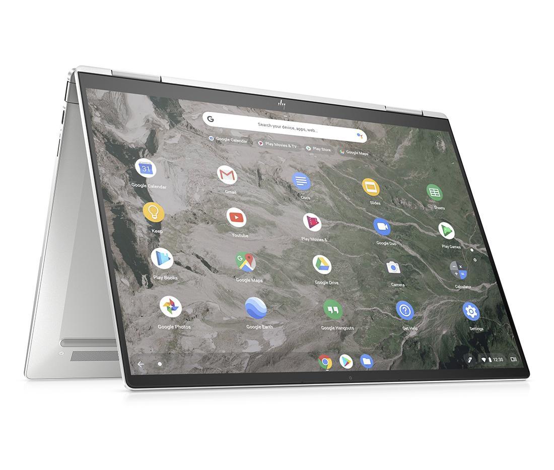 Chromebook HP Elite c1030 Enterprise объединяет ощущения на потрясающем экране от края до края с дополнительным подключением HP Sure View Reflect и LTE.