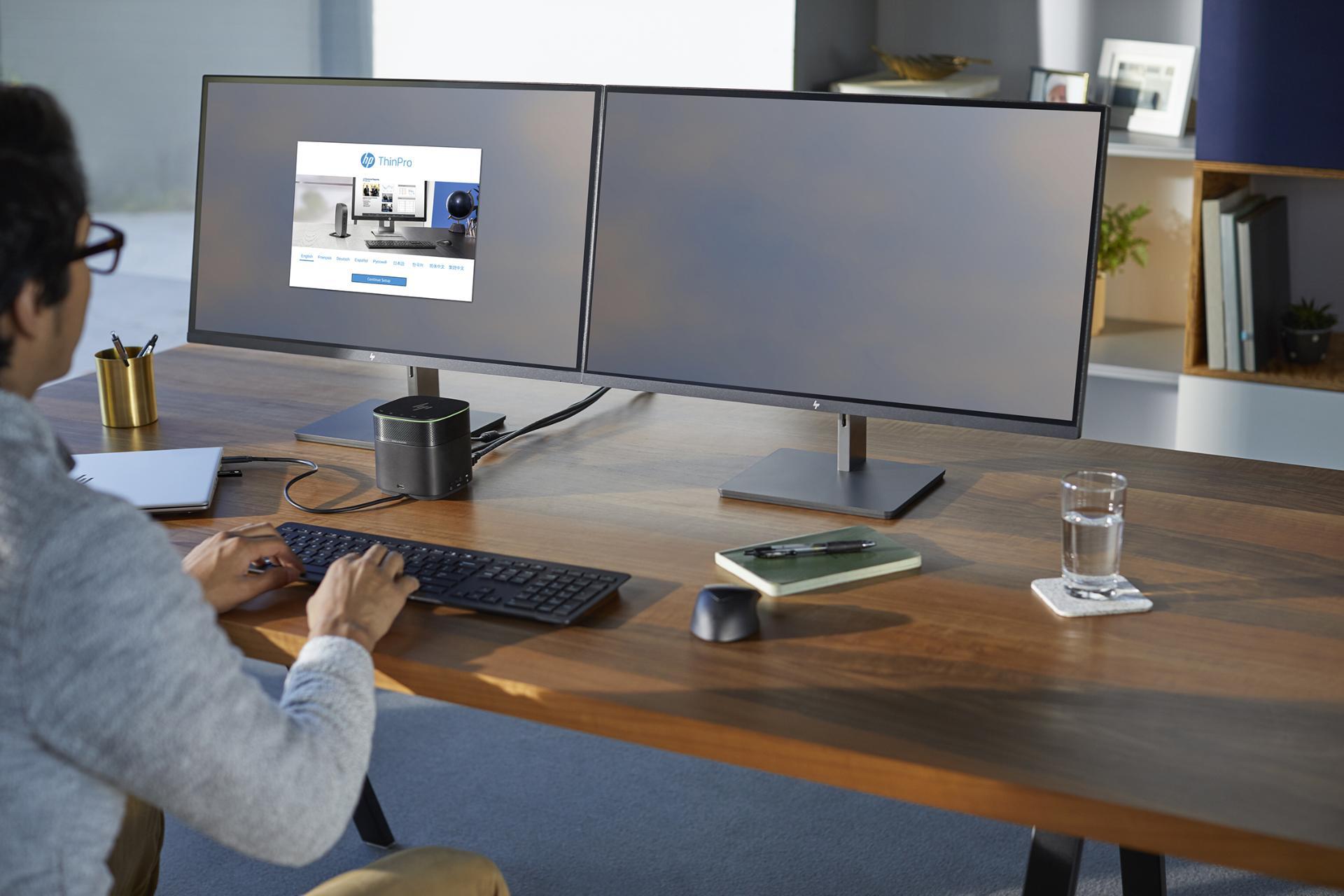 HP Thin Pro Go - это загрузочное USB-устройство, которое превращает устаревшие и персональные ПК в защищенные устройства для работы.