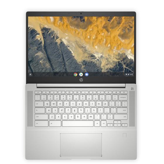 Chromebook HP Pro c640 Enterprise - самый тонкий в мире 14-дюймовый Chromebook для бизнеса.