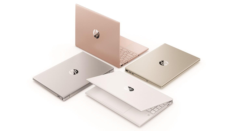 HP Pavilion Aero 13 доступен в великолепных цветовых палитрах, включая бледно-розовое золото, теплое золото, керамический белый и натуральное серебро.