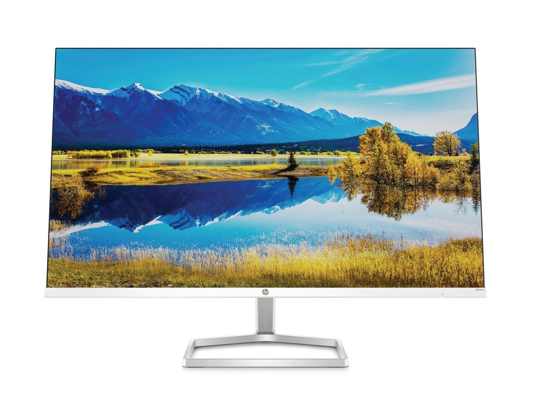 Мониторы серии HP M-Series теперь оснащены дисплеями с диагональю 24 и 27 дюймов для просмотра шоу, просмотра веб-страниц или игр со встроенным звуком для полноценного просмотра.