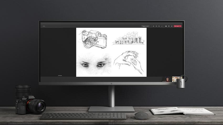 34-дюймовый настольный моноблок HP ENVY All-in-One оснащен великолепным дисплеем 5K, обеспечивающим реалистичные цвета, а также мощностью и производительностью, позволяющими запускать программное обеспечение для творчества без замедления работы. Его инновационная съемная магнитная камера позволяет вам проявить творческий подход в том, как вы делитесь своими самыми крутыми идеями.